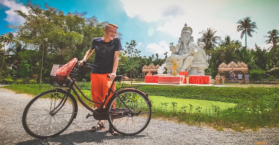 Велотур по Банг Крачао в Бангкоке