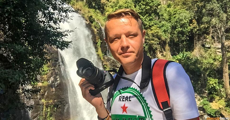 Грохочущий водопад Wachiratkan Waterfall