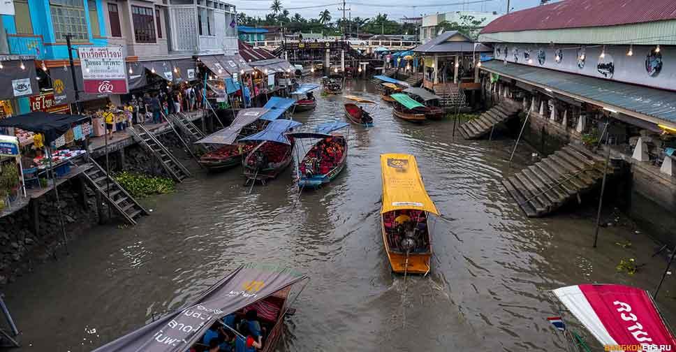 Город Ампхава (Amphawa Floating Market)