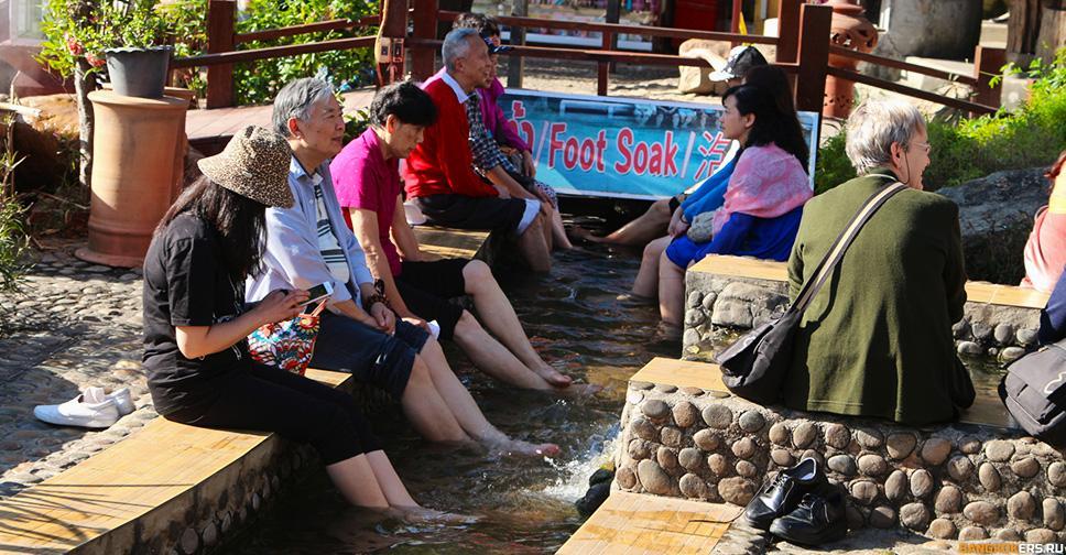 Горячие источники Thaweesin Hot Spring