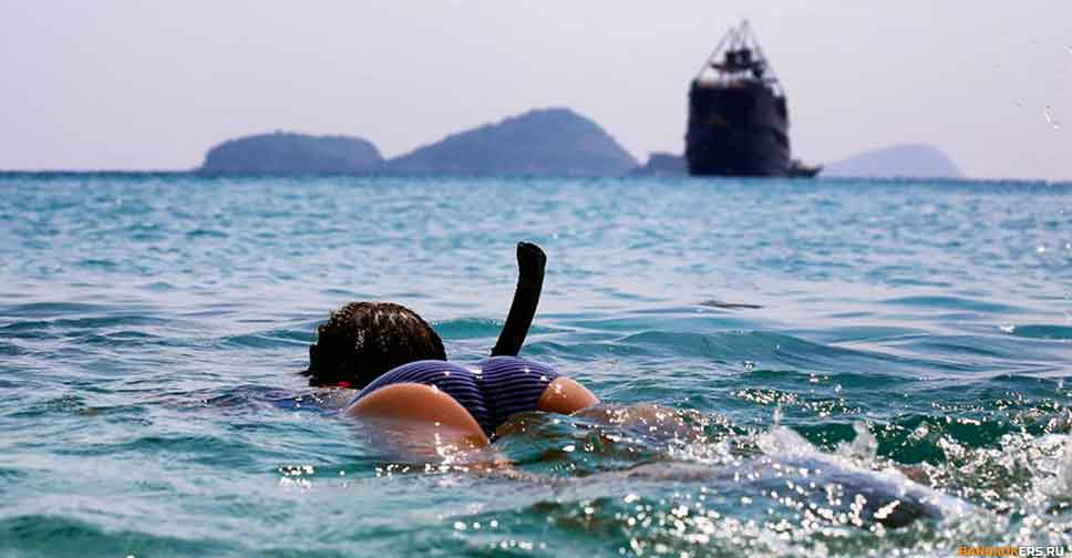 Сноркелинг на пиратском корабле Адмираллика ★ Экскурсии и туры по Таиланду.